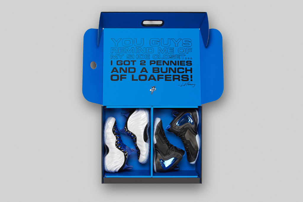 Nike Penny Shooting Stars Pack Box
