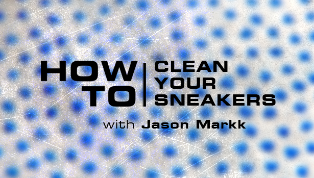 How to Clean Sneakers On The Go with Jason Markk