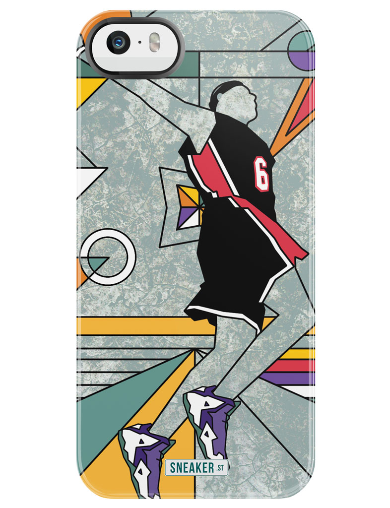 SneakerSt & Uncommon Cook Up Gumbo League Phone Cases for All-Star Weekend - LeBron James