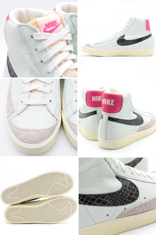 low priced 78627 607c4 The Nike Blazer Mid  77 PRM VNTG in Sail   Pink Force will release at  select Nike Sportswear retailers, including Tokyo s atmos, on December 22.