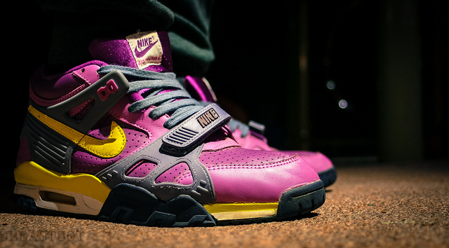 new products c8c30 eb607 JBeast501 in the Viotech Nike Air Trainer III.