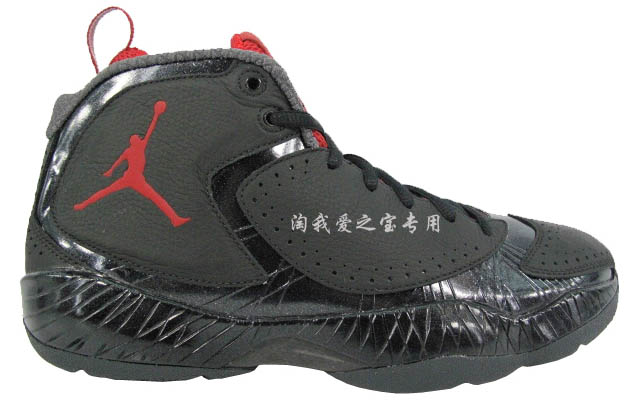 Air Jordan 2012 Black Red Grey 508318-010 (1)