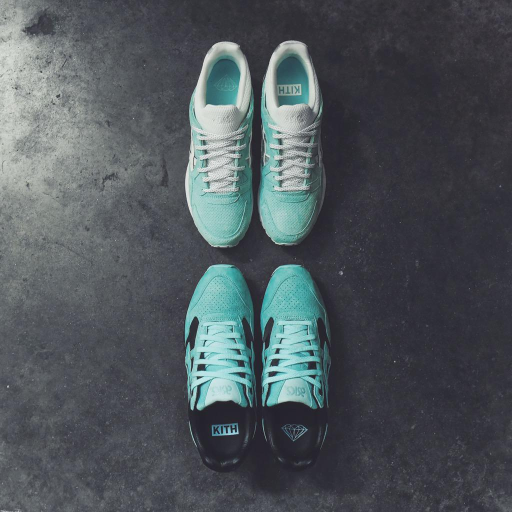 Ronnie Fieg x Diamond Supply x Asics Tiffany Pack Release Date
