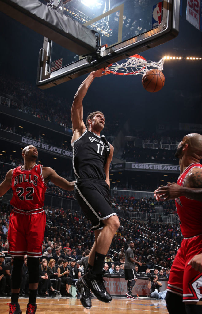 Brook Lopez wearing adidas adizero Ghost 2