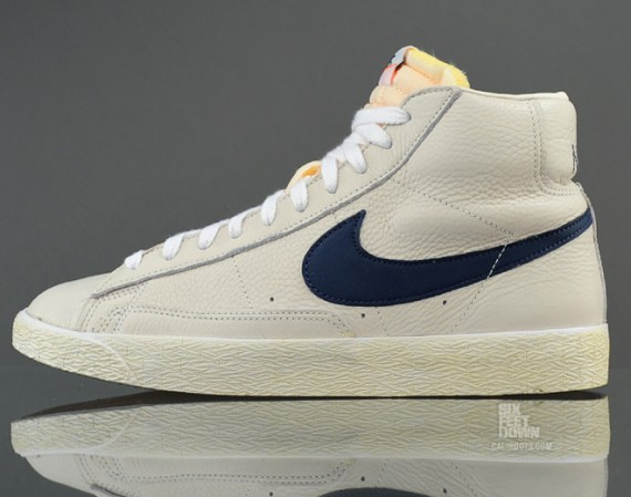 low priced 24b96 375e0 The timeless Nike Blazer returns this summer in a classic color scheme  constructed of premium materials.