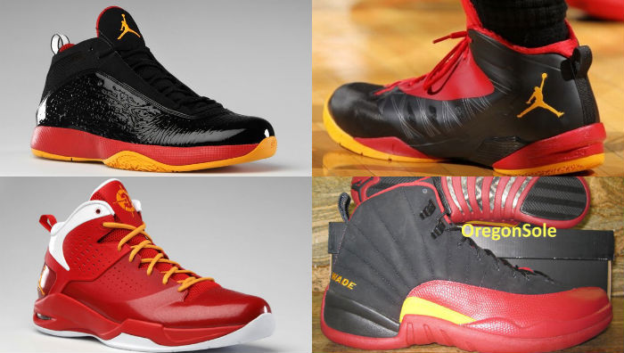 Hulk Hogan // Dwyane Wade Jordan Player Exclusives