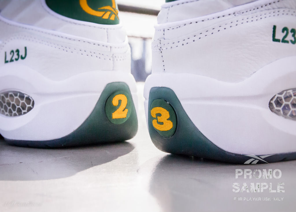 Packer Shoes x Reebok Question LeBron James For Player Use Only (5)