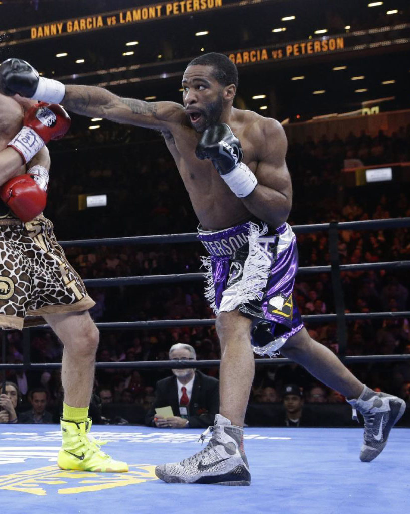 Lamont Peterson wearing the 'Detail' Nike Kobe IX 9 (1)