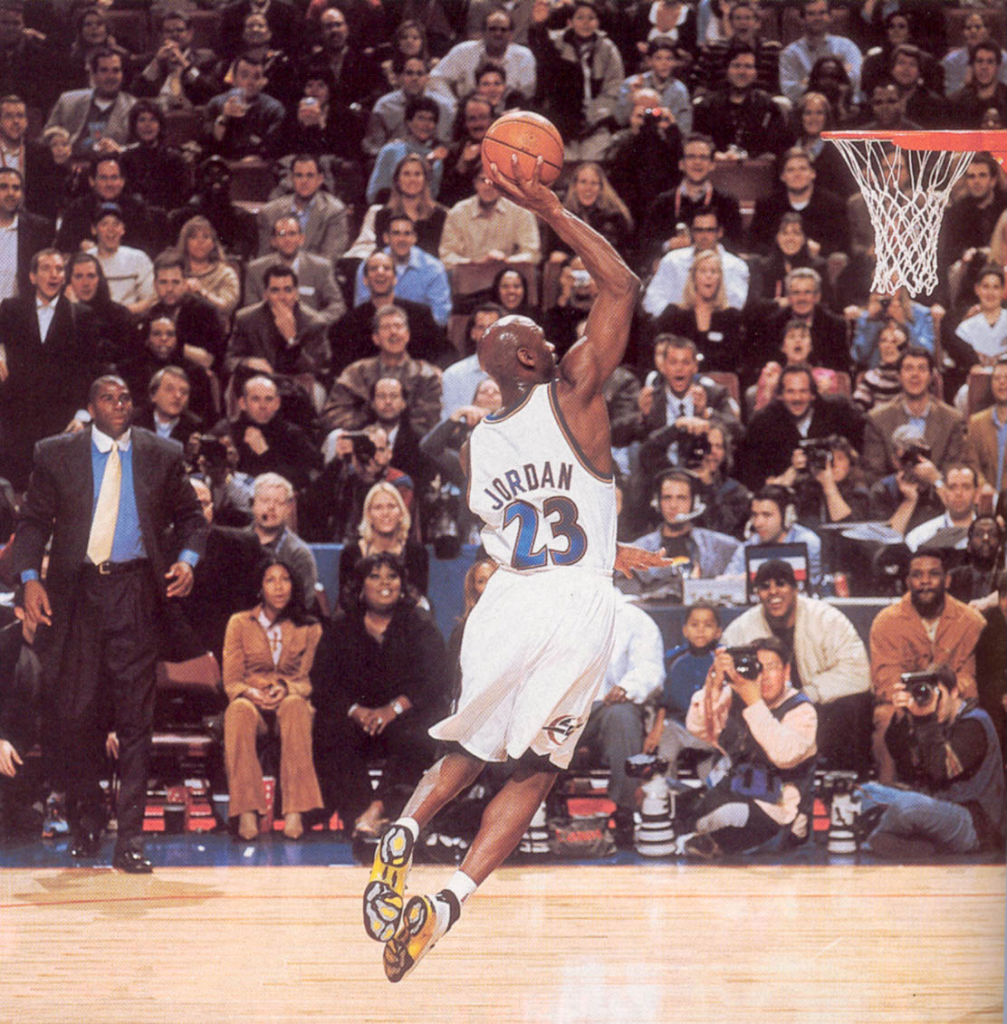 #2350 // 50 Classic Michael Jordan All-Star Game Photos (5)