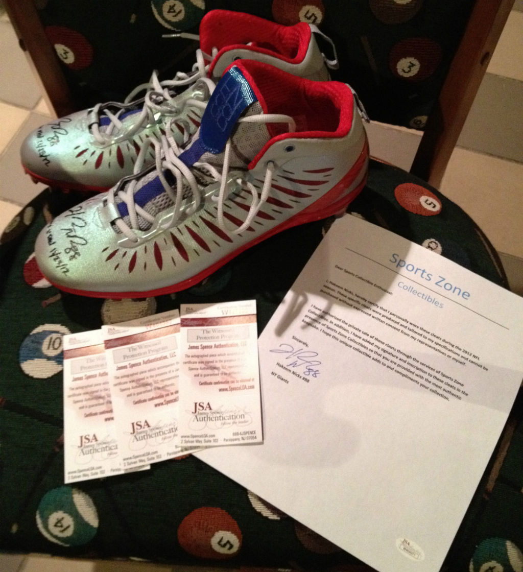 Jordan Super.Fly Hakeem Nicks PE Cleats (6)
