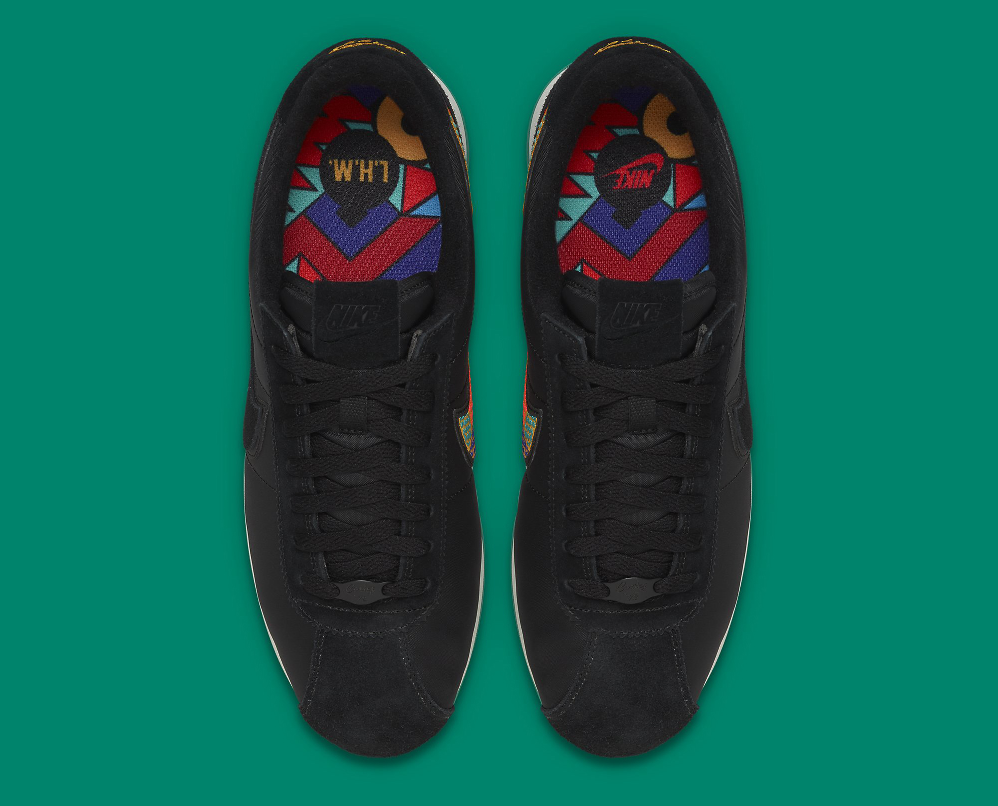 official photos de3cd cec08 Image via Nike Nike Cortez Latino Heritage Month 885407-001 Top