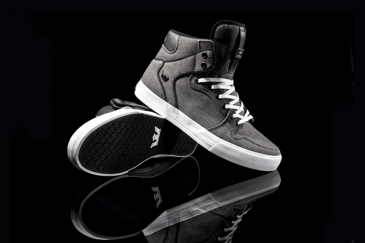 Adidas skate shoes zumiez - Zumiez X Supra Vaider Black Washed Canvas