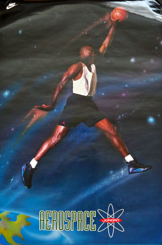 check out f767f 01392 Michael Jordan  Aerospace  Nike Air Jordan Poster (1993)