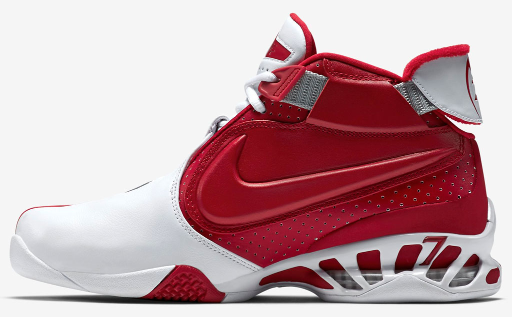new products a640c b2832 Nike Zoom Vick 2 Falcons White Red 599446-101 (2)