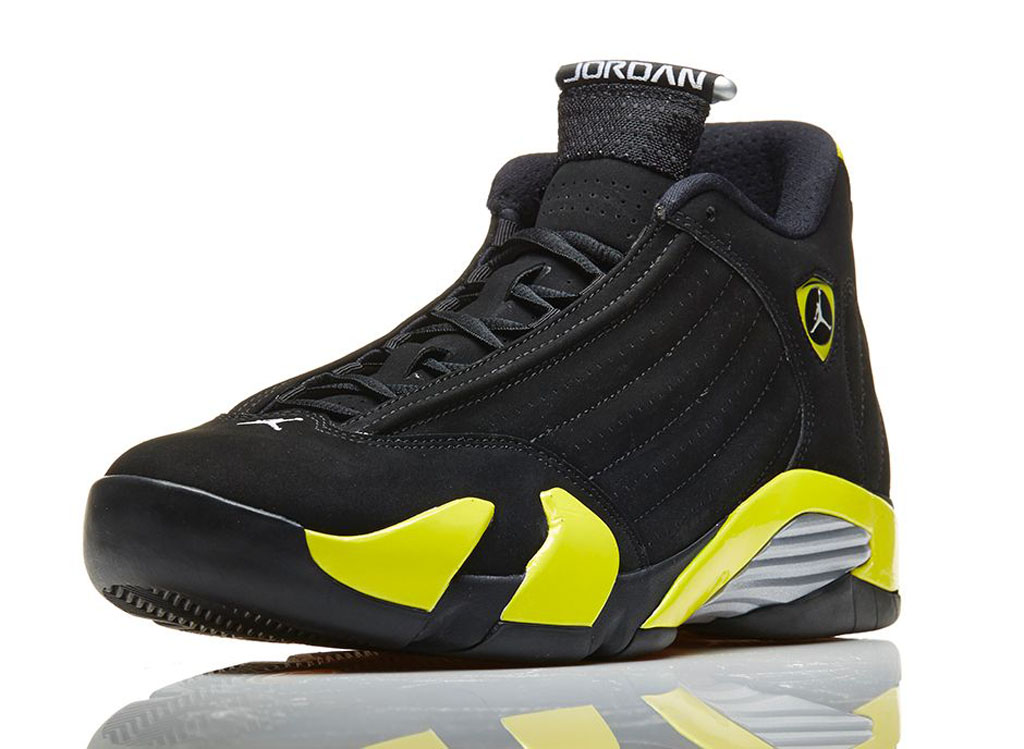 635b59cd2ea623 ... promo code for an official look at the thunder air jordan 14 retro  e19cf 82990
