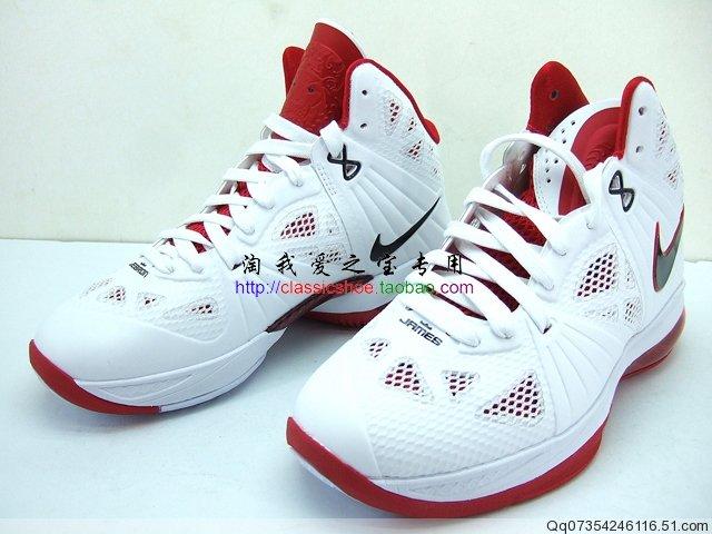 9e8275176de5 Nike LeBron 8 P.S. GS - White Varsity Red-Black - Detailed Images ...