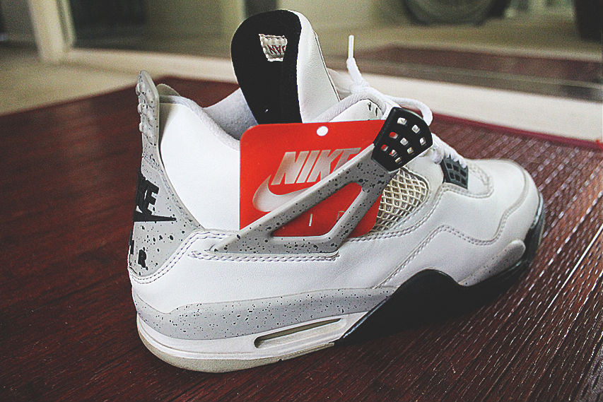 Spotlight // Pickups of the Week 7.7.13 - Air Jordan IV 4 Retro White Cement by airmere23
