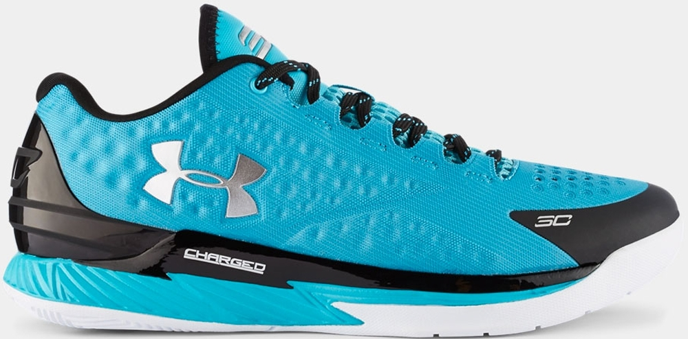 Under Armour Curry One Low Pacific/Black-Metallic Silver