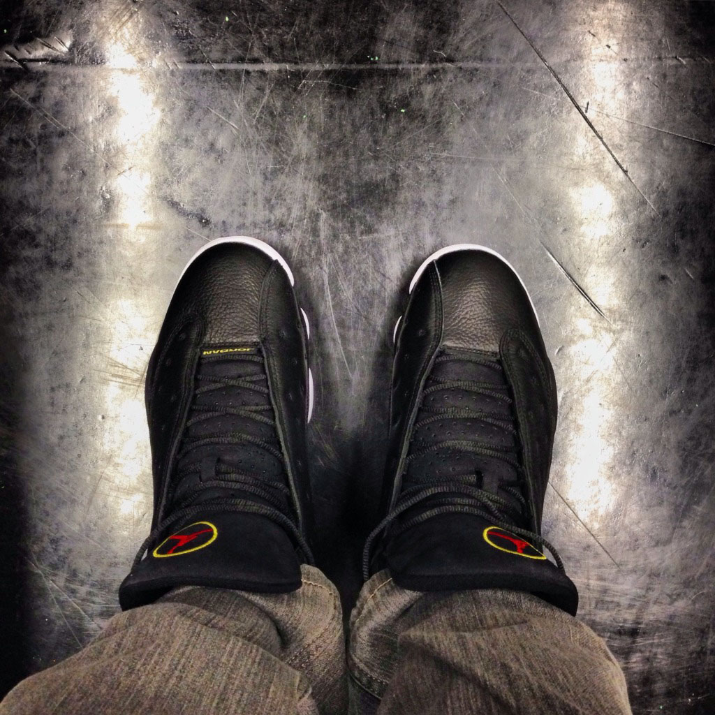 Spotlight // Forum Staff Weekly WDYWT? - 11.16.13 - Air Jordan 13 XIII Retro Playoff by Uncle