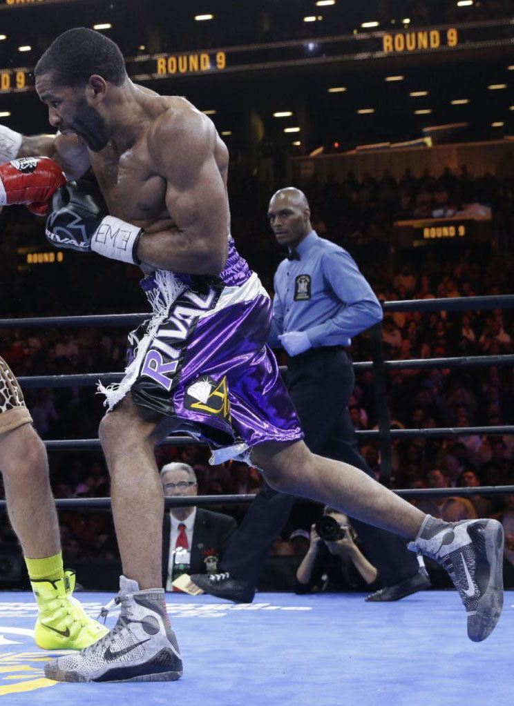 Lamont Peterson wearing the 'Detail' Nike Kobe IX 9 (2)