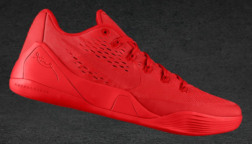 Kobe 9 EM NIKEiD - Red October