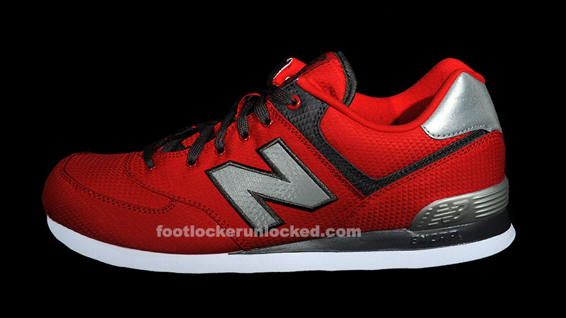 New Balance 574 - Windbreaker Collection Red (1)