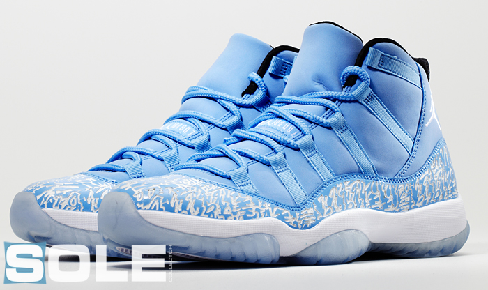 Air Jordan XI 11 Pantone 284 Sample 6c0cad61b
