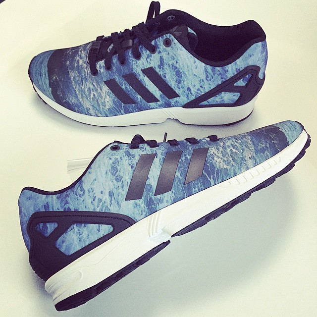 DJ Skee Picks Up adidas ZX Flux Malibu Summer