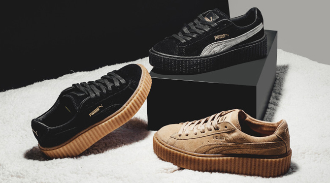 here 39 s a full look at rihanna 39 s first puma sneaker collection sole collector. Black Bedroom Furniture Sets. Home Design Ideas