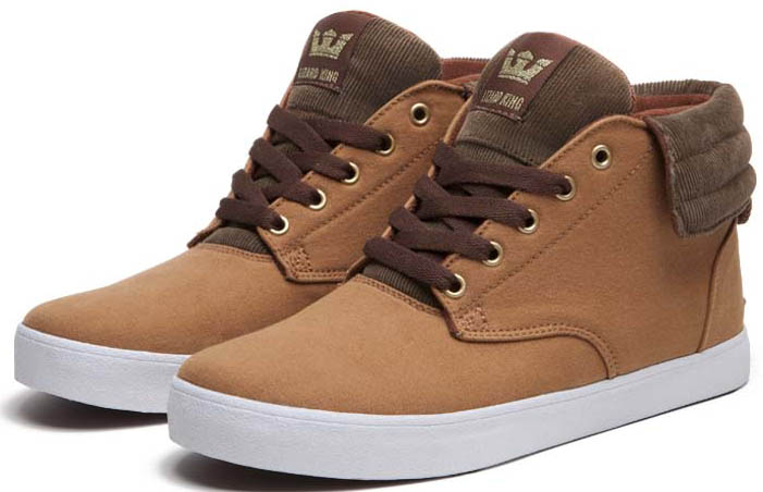 SUPRA Passion Duck Twill Lizard King Shoes (2)