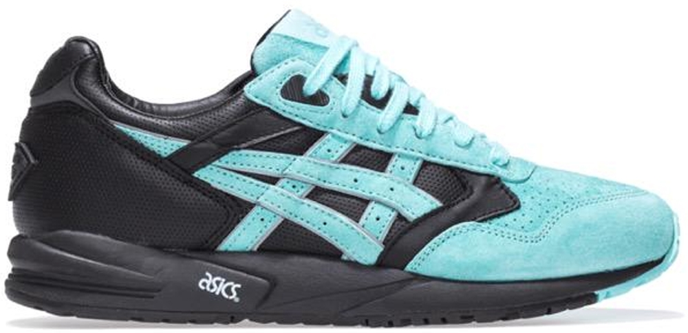 Asics Gel Saga Black/Aqua