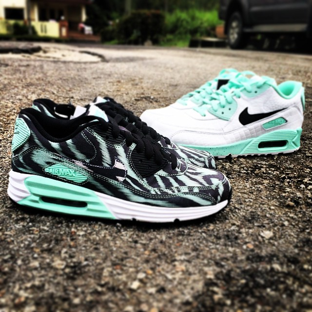 e32ce517b6 Air Max 90. NIKEiD Tiffany Designs (31)