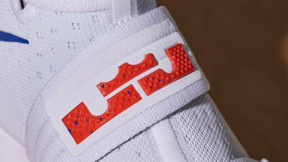 Nike LeBron Soldier 10 HWC Home White PE Strap