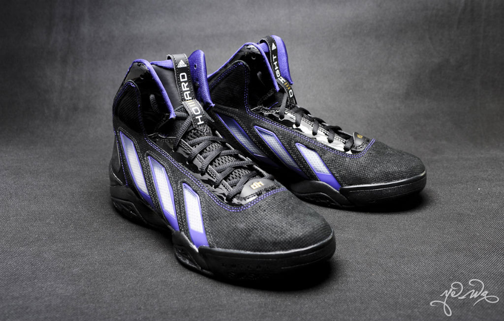 low priced c2059 231df adidas adiPower Howard 3 Lakers Away (2)