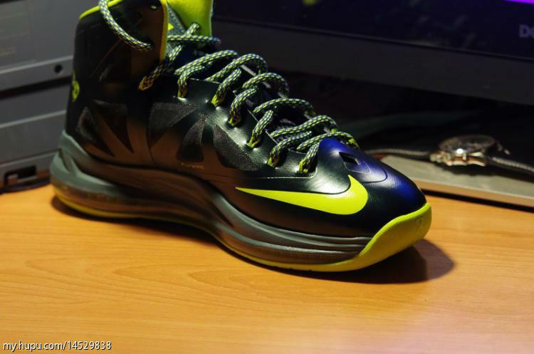 Online sales Nike Zoom Lebron X 10 541100 300 Dunkman Black Gree