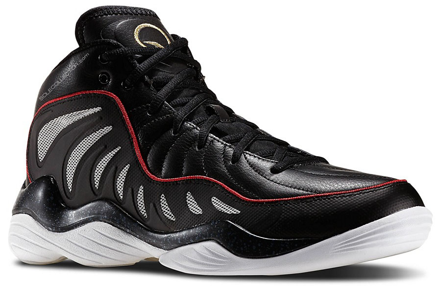 Reebok Answer XIV 14 Black/Gold-Red (1)