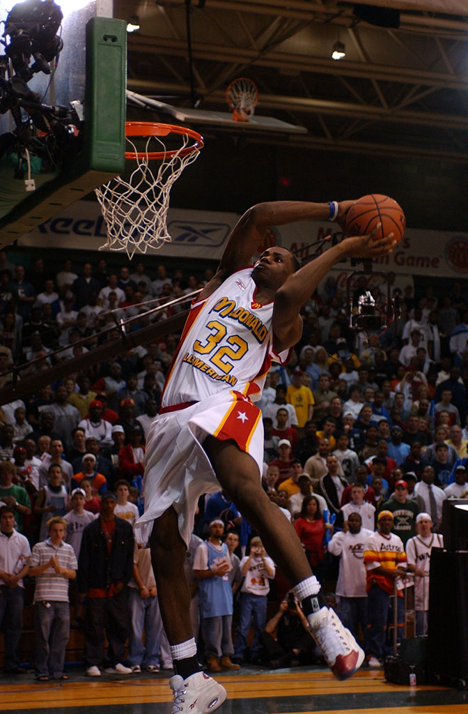 Flashback LeBron James Wears Reebok Question At 2003