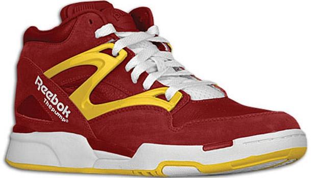 Reebok Pump Omni Lite Cardinal/Yellow-White