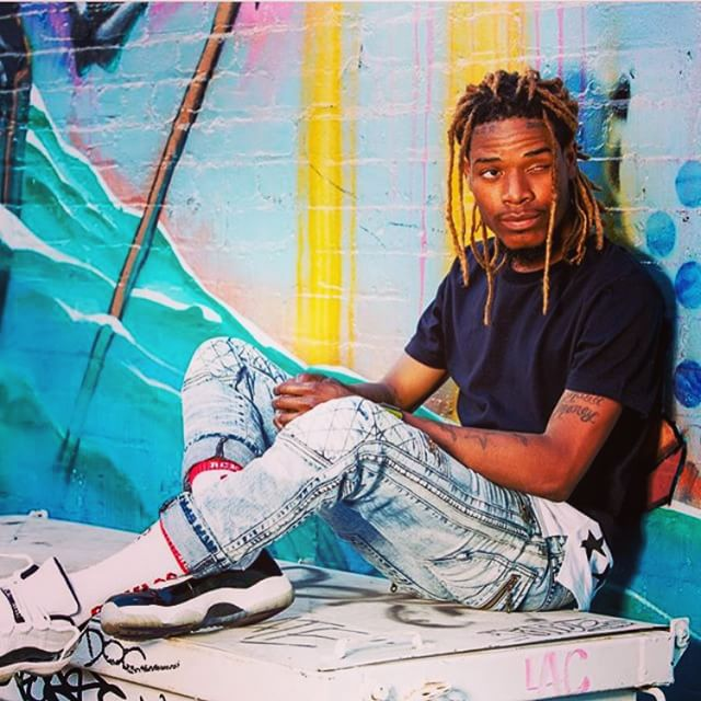 f6dc503774e Fetty Wap wearing the 'Concord' Air Jordan 11