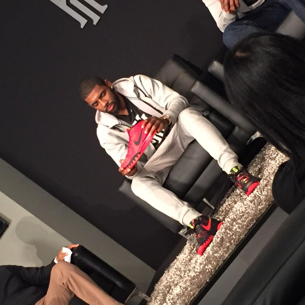 release date: 23ae3 b225e Nike Kyrie 1 Launch Event (8)