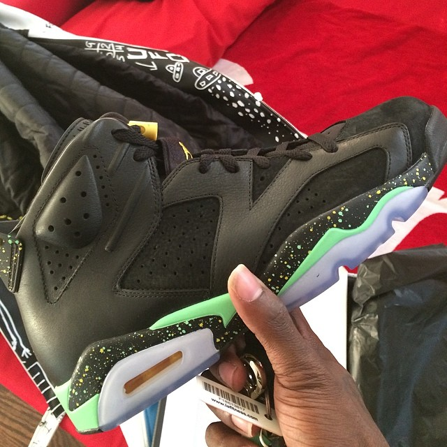 Trinidad James Picks Up Air Jordan VI 6 Brazil
