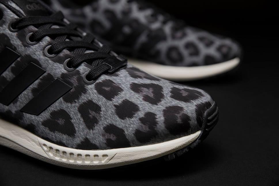 adidas nere leopardate