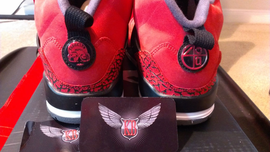 Jordan Spiz'ike Gym Red Black Dark Grey White 315371-601 (5)