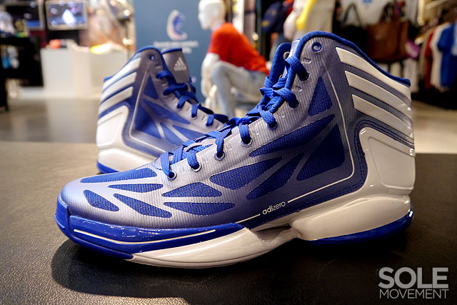 adidas adiZero Crazy Light 2 Royal White G59175 (1)