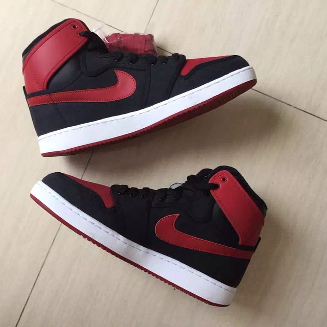 Bred' Air Jordan 1 KO Looks On-Feet