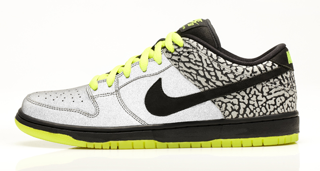 Nike SB Volt Collection Dunk Low