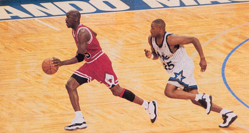Michael Jordan wearing Air Jordan XI 11 Concord (38)