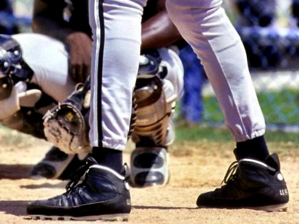 877ef477d6b Flashback // Michael Jordan in the Air Jordan IX PE Baseball Cleat ...