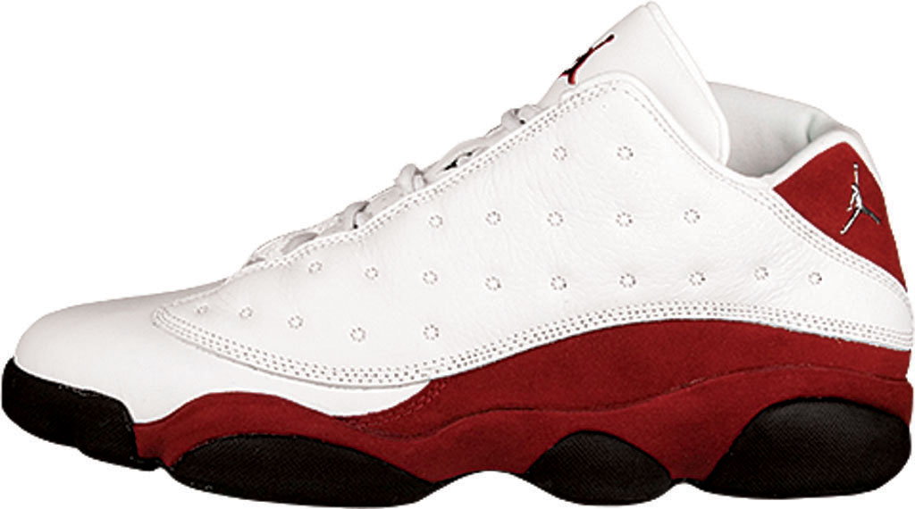 quality design 58840 61ef7 Air Jordan 13 Retro Low. Style Code  310810-105. Colorway  White Metallic  Silver-Varsity Red-Black Release Date  04 23 2005