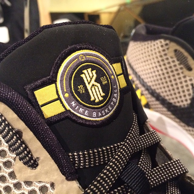 info for c46b7 ff62f You Can Actually Own the 'Warhawks' Nike Kyrie 1 | Sole ...